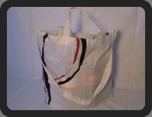 ripstop shopping bag